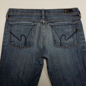 Ingrid #002 Tag Size 30 Low Waist Flare - Citizens